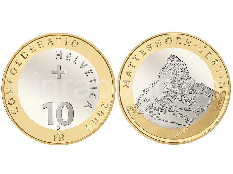 Schweizer Geld Johannes Müller Gedenkmünzen 10 Franken Bimetall