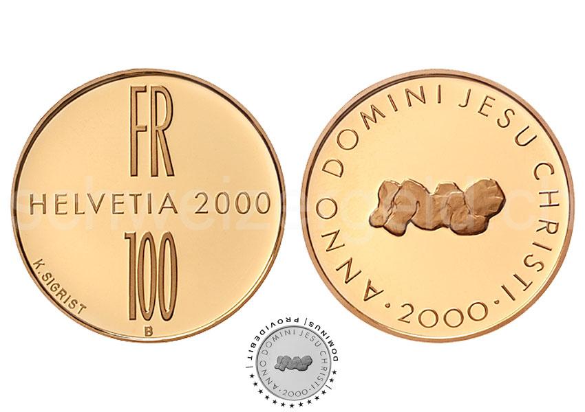 Schweizer Geld Johannes Müller Gedenkmünzen 250 100 50 5
