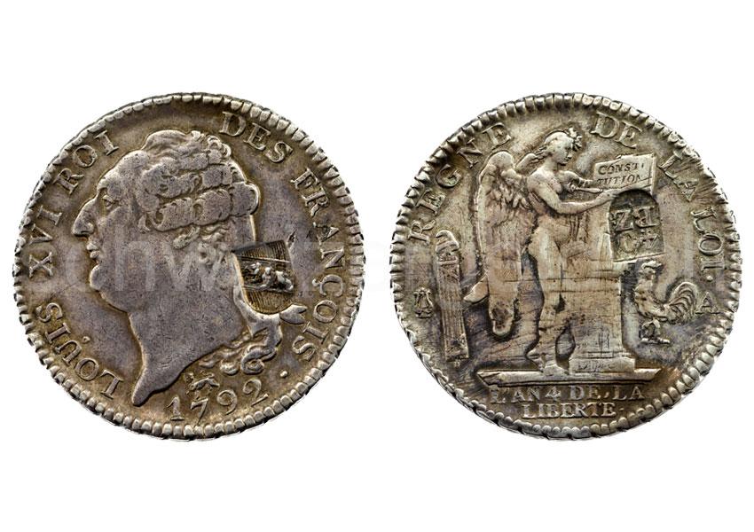 Schweizer Geld Johannes Müller Kantonsmünzen Französische
